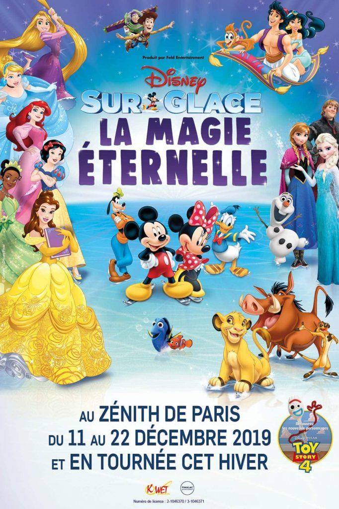 Disney sur Glace : Le spectacle à ne pas manquer !