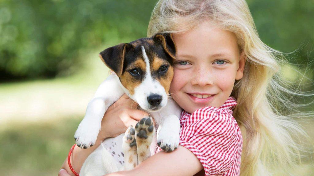 Les animaux domestiques participent au développement de votre enfant